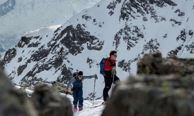 バック・カントリー・スキー向けの電動アシストMTB「Sk-eRide」
