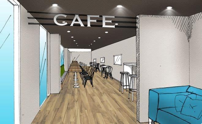 カフェホテル「IKIDANE CYCLIST HOSTEL & CAFE SHIMANAMI」