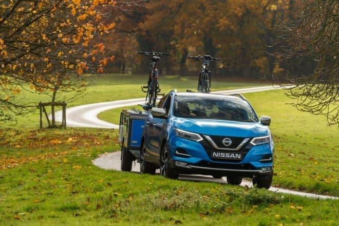 日産のコンセプトキャンパー「Nissan x OPUS」