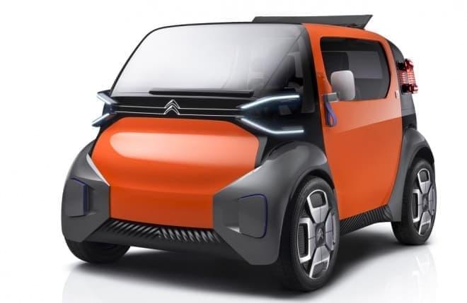 シトロエンのコンセプトカー「AMI ONE CONCEPT」