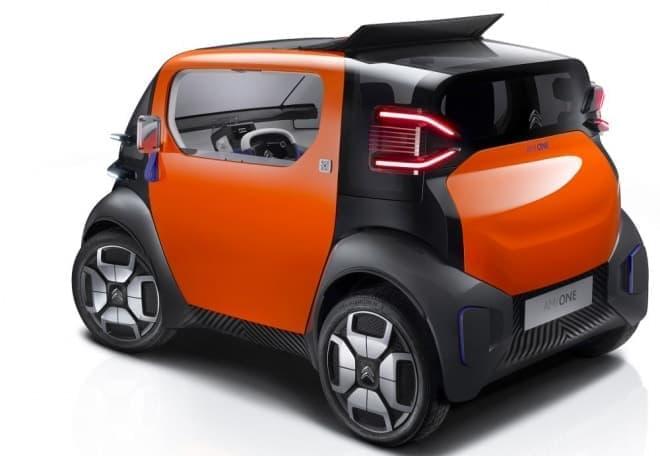 シトロエンの電気自動車「AMI ONE CONCEPT」