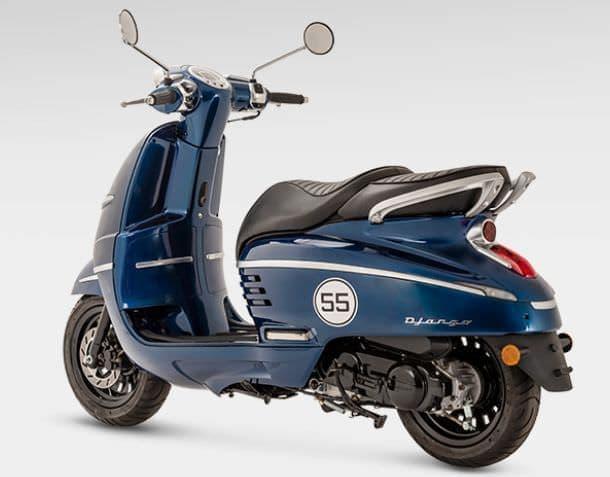 プジョー「ジャンゴ125」に2019年モデル3機種登場