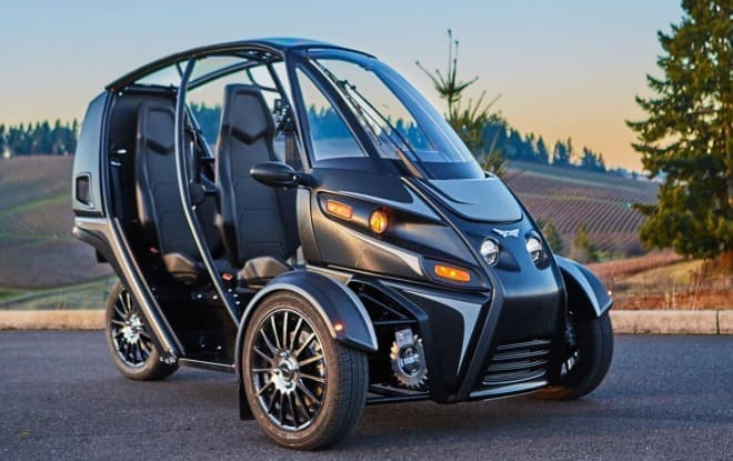Arcimoto3輪電動車両「Evergreen Edition」