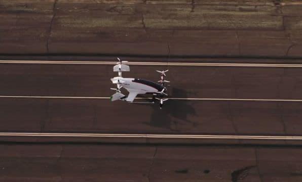 スマホで呼べば、空からタクシーが迎えに ― Vahana「Alpha Two」がチルトウイングテスト動画を公開