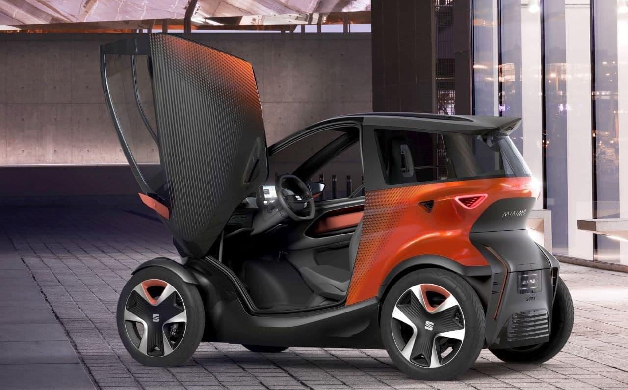 SEATのコンセプトカー「Minimo」