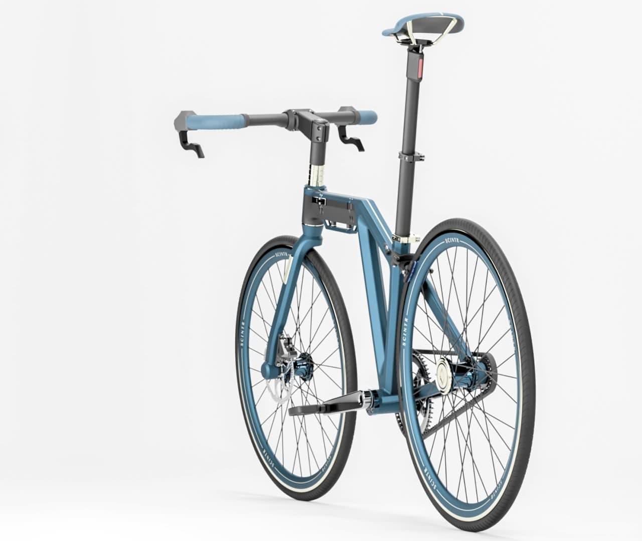 都市生活者向けの折り畳みクロスバイク「TRIG」