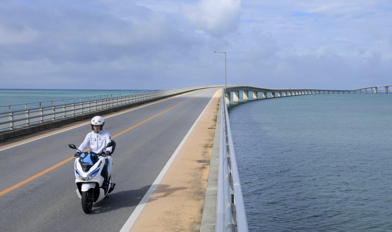 ホンダの電動バイク「PCX ELECTRIC」宮古島でレンタル可能に