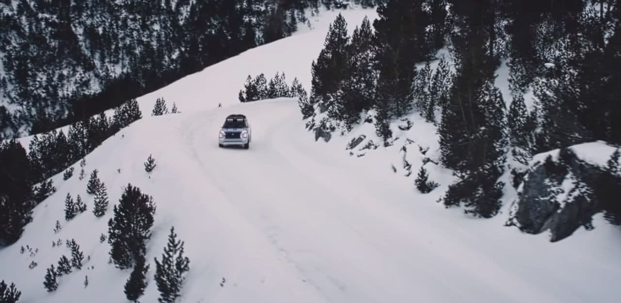 三菱、クロスオーバーSUV「ENGELBERG TOURER」を世界初披露