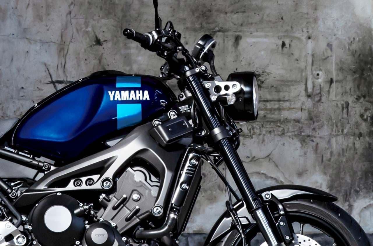 ヤマハXSR900 ABSに新色「ダルパープリッシュブルーメタリックX」