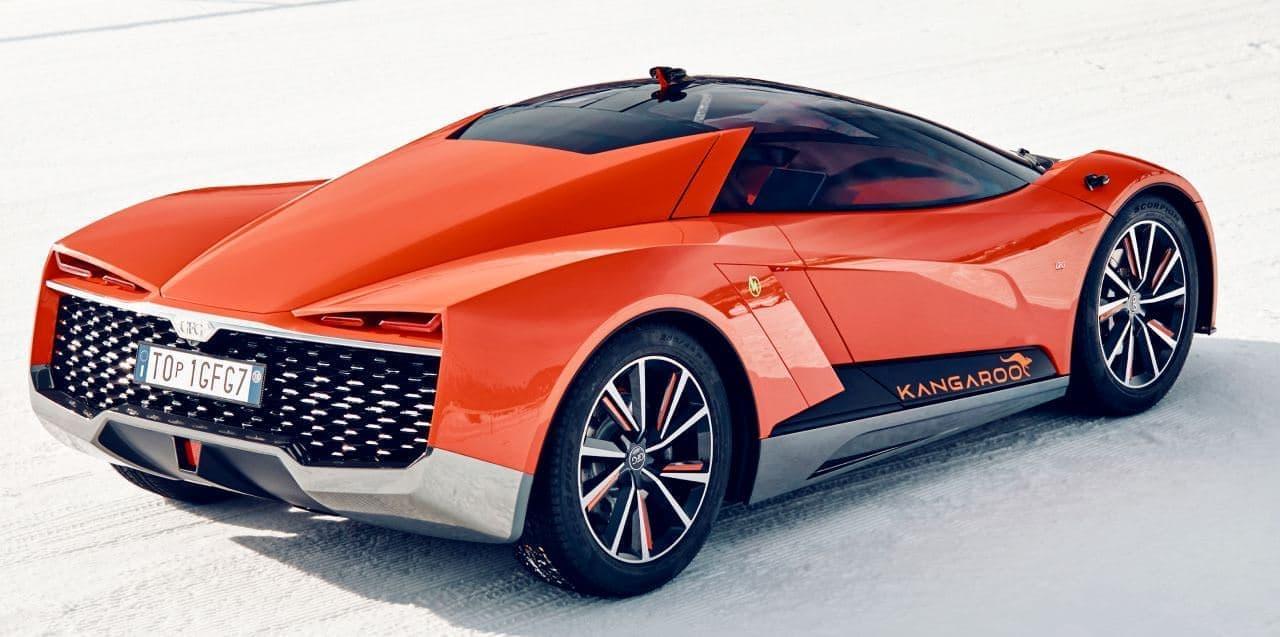 """ハイパーSUV""""を謳うGFG Styleのコンセプトモデル「Kangaroo」"""