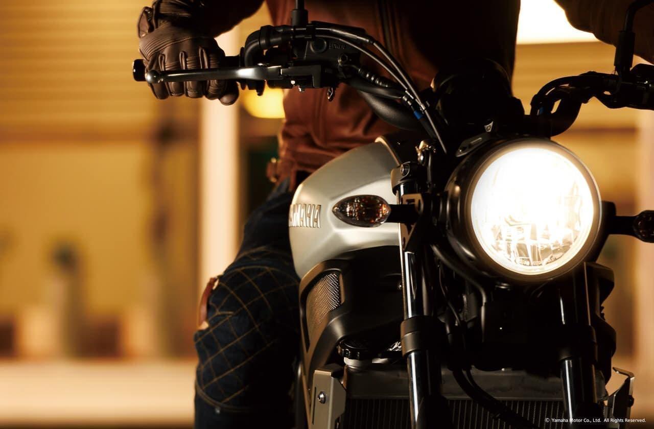 ヤマハ「XSR700 ABS」に新色「マットダークパープリッシュブルーメタリック1」