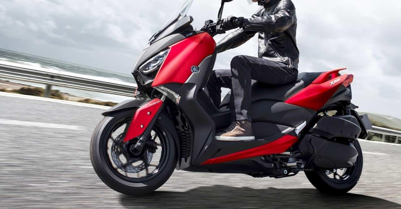 ヤマハ「XMAX ABS」カラーリング変更―マットカラーでトレンド感を強調