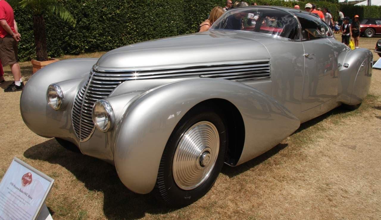 1938年のHispano Suiza「H6C Dubonnet Xenia」