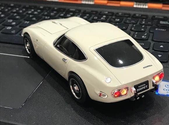 トヨタ2000GTが無線マウスとして登場
