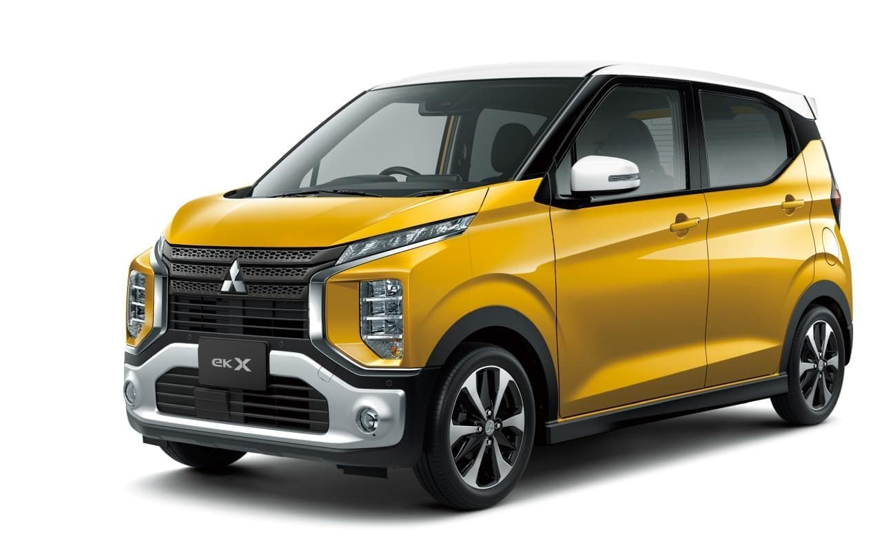 三菱の軽自動車 新型「eK X(クロス)」