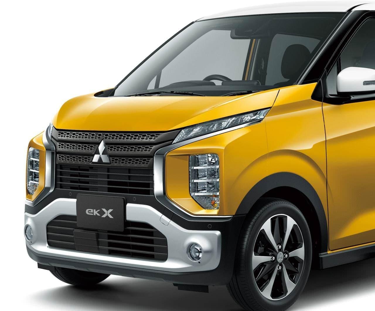 三菱新型「eK X(クロス)」