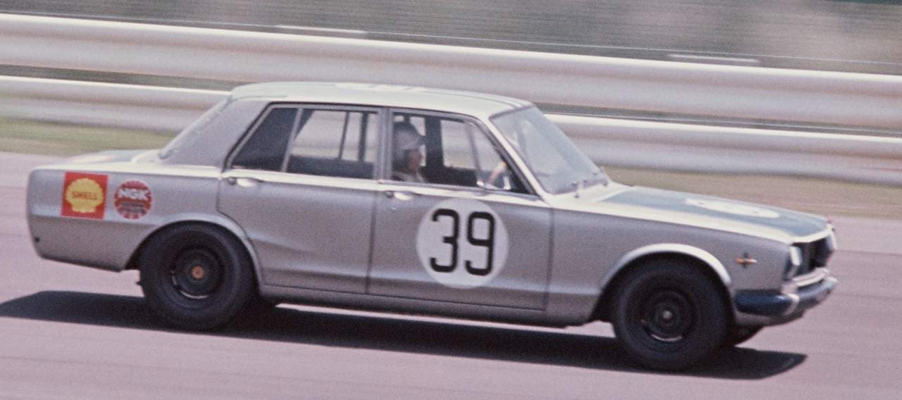 ・スカイライン2000GT-R PGC10型(1969年JAFグランプリ優勝仕様車 No. 39)