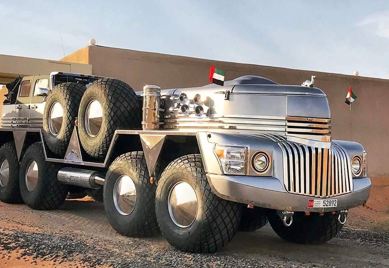 """「Dhabiyan」は""""世界最大のSUV""""を謳うクルマ"""