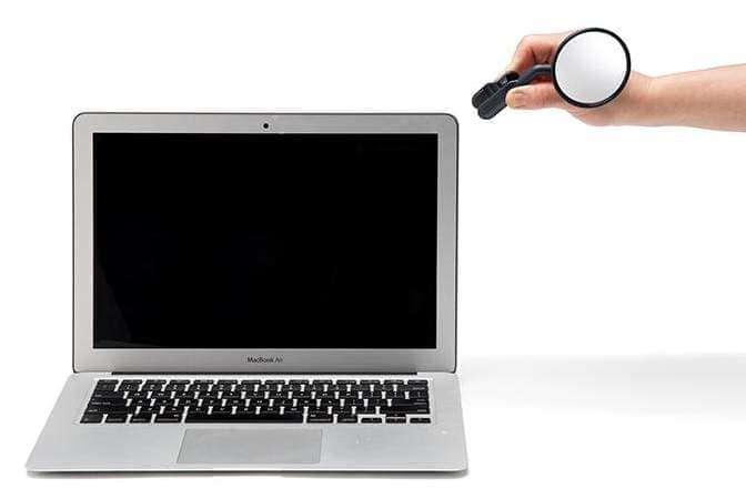 ノートPC用のバックミラー「Watch It」―