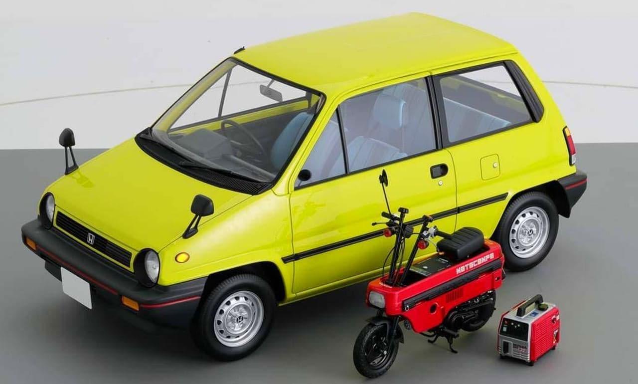1984年に発売されたオープンモデル「CITY Cabriolet(シティ カブリオレ)」