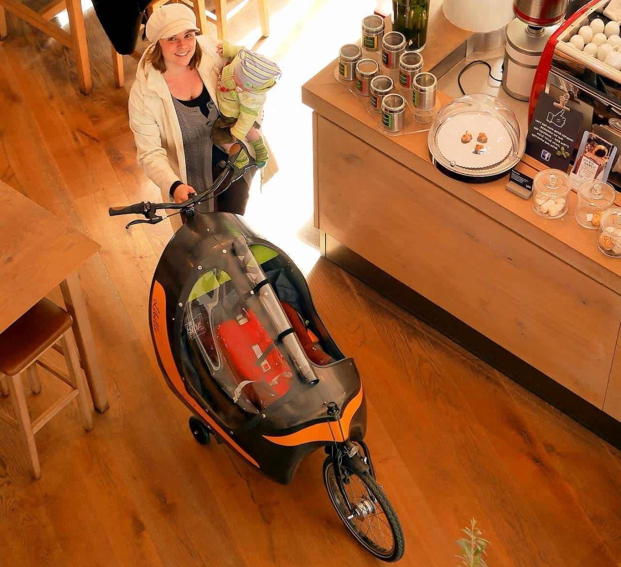子乗せ自転車「Dragonfly 2in1」に2019年モデル