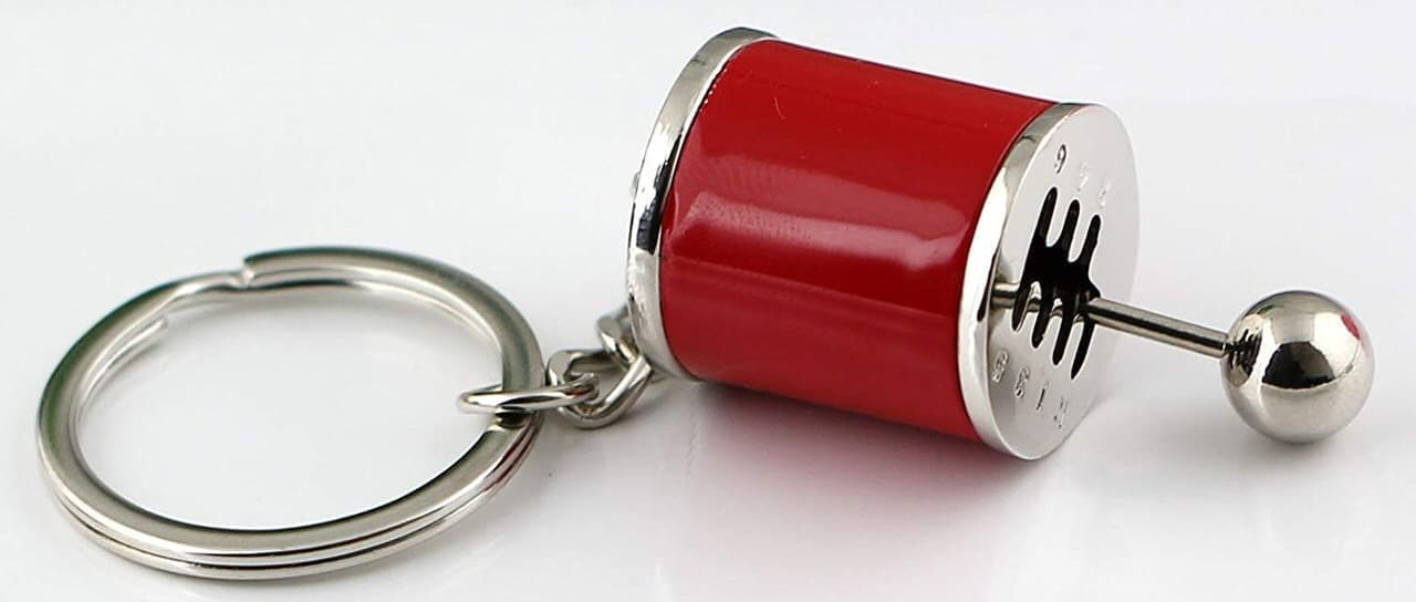 6MTをモチーフにしたキーホルダーMaycom「Six-Speed Manual Transmission Shift Lever Keychain」