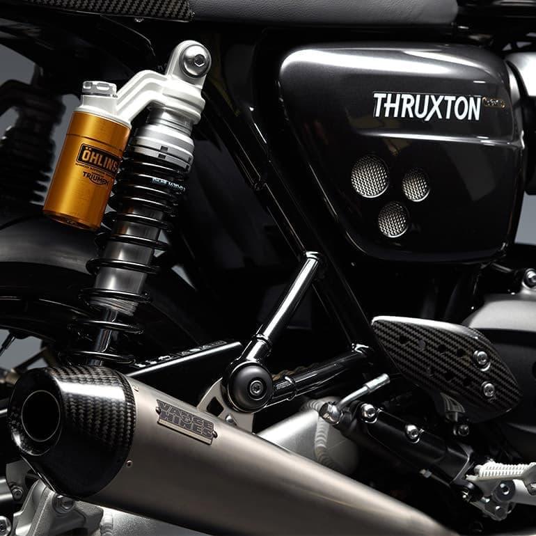 トライアンフ、2019年限定モデル「THRUXTON TFC」