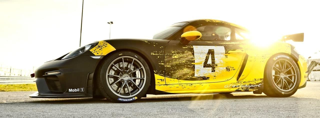 天然繊維ボディのポルシェ「718ケイマンGT4クラブスポーツ」
