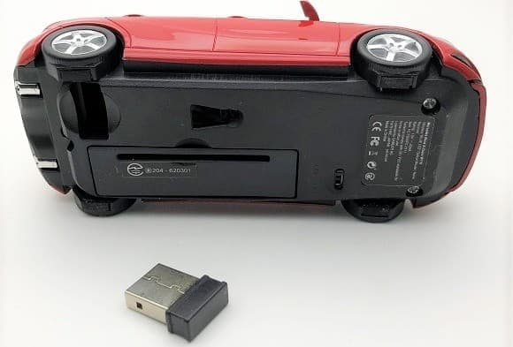 メルセデスベンツAクラス型無線マウス
