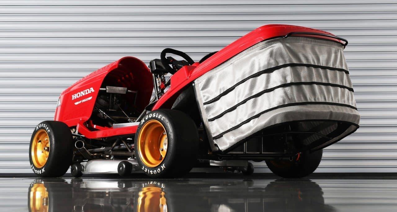 芝刈り機だけど190馬力! ― ホンダが芝刈り機の世界最速記録更新に向け再始動 スーパーバイクのエンジン搭載 えん乗り