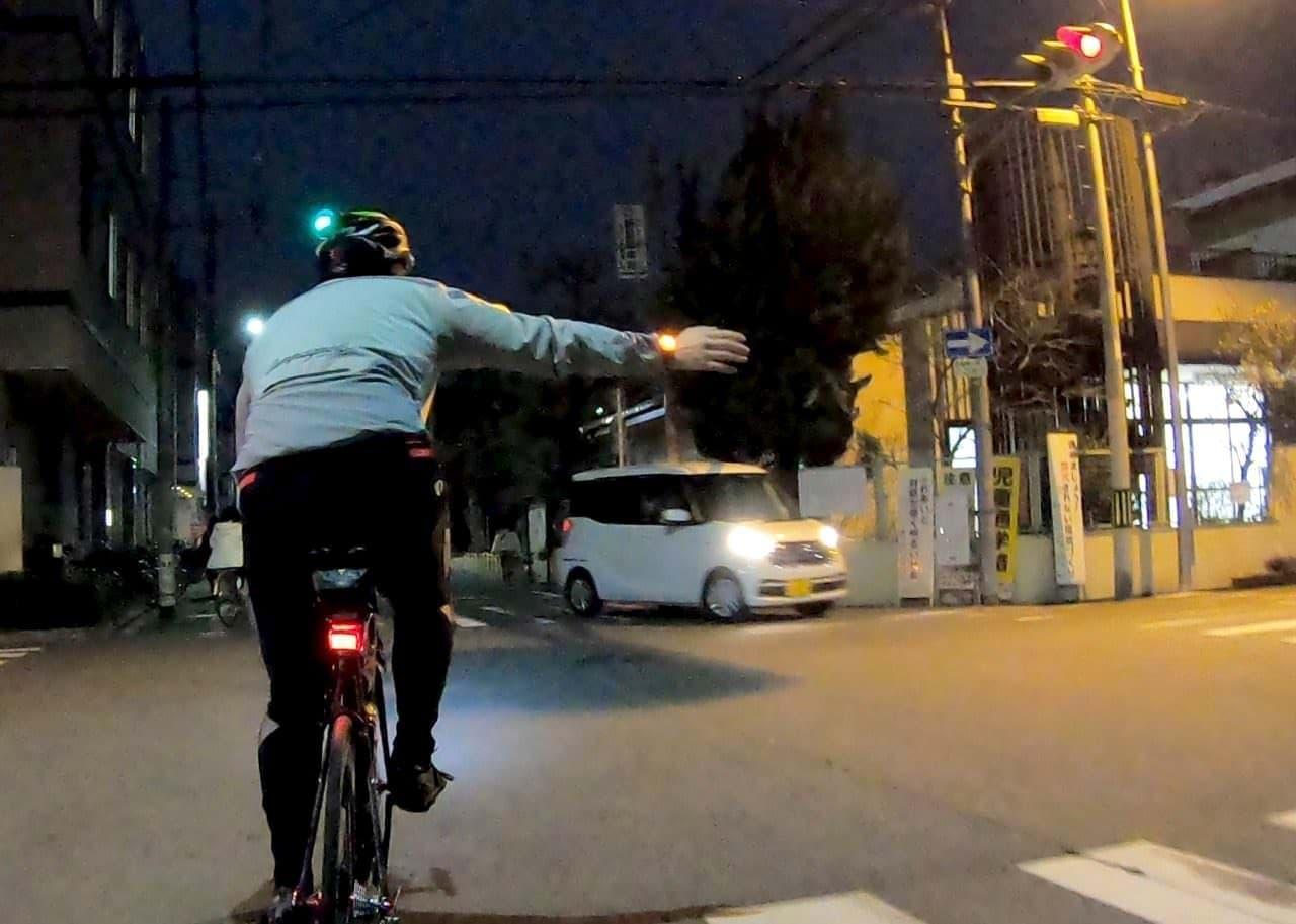 """自転車用のウインカー「sig""""」"""