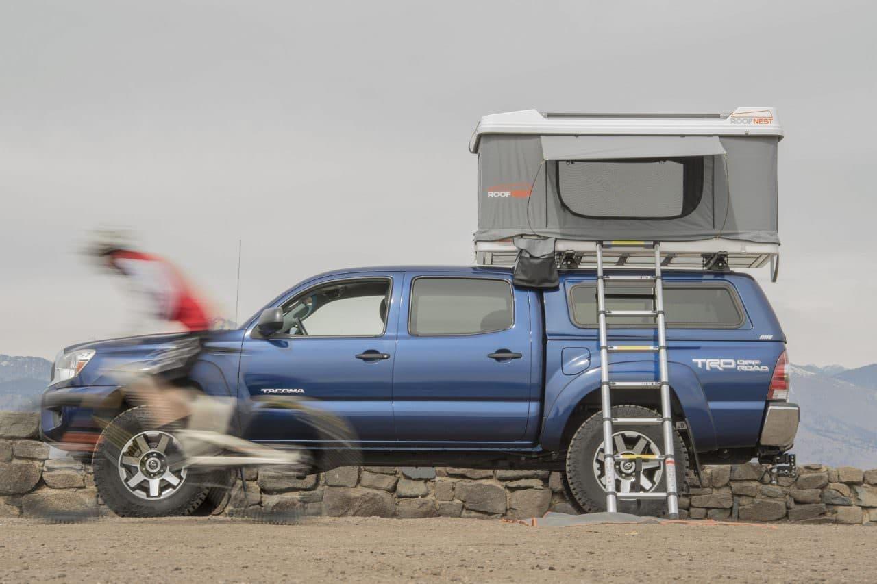 コンパクトカーもキャンピングカーにするRoofnest「Sandpiper」