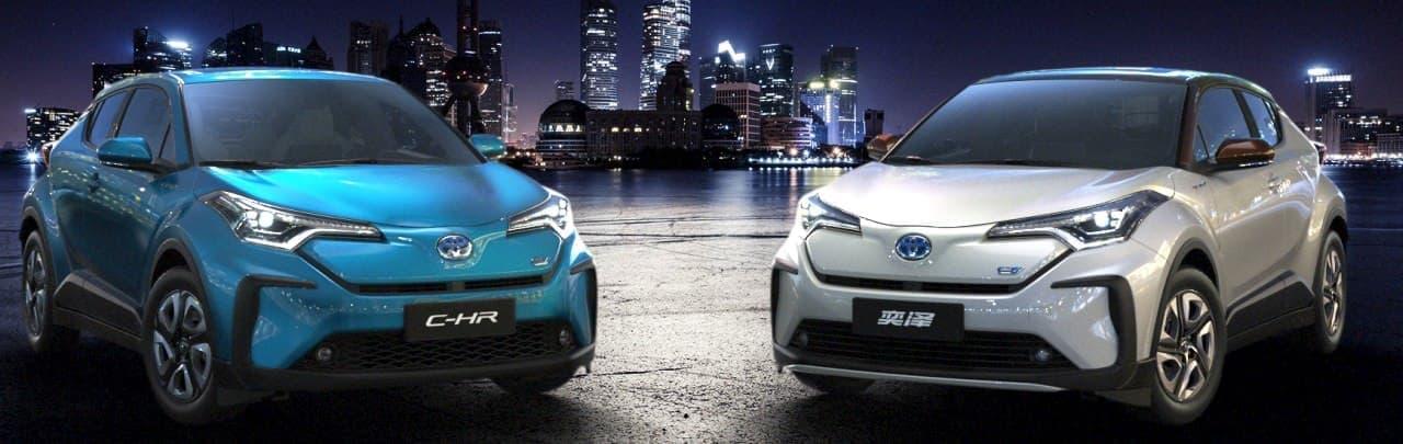 トヨタ、「C-HR」「IZOA」の電気自動車を上海モーターショーで世界初披露