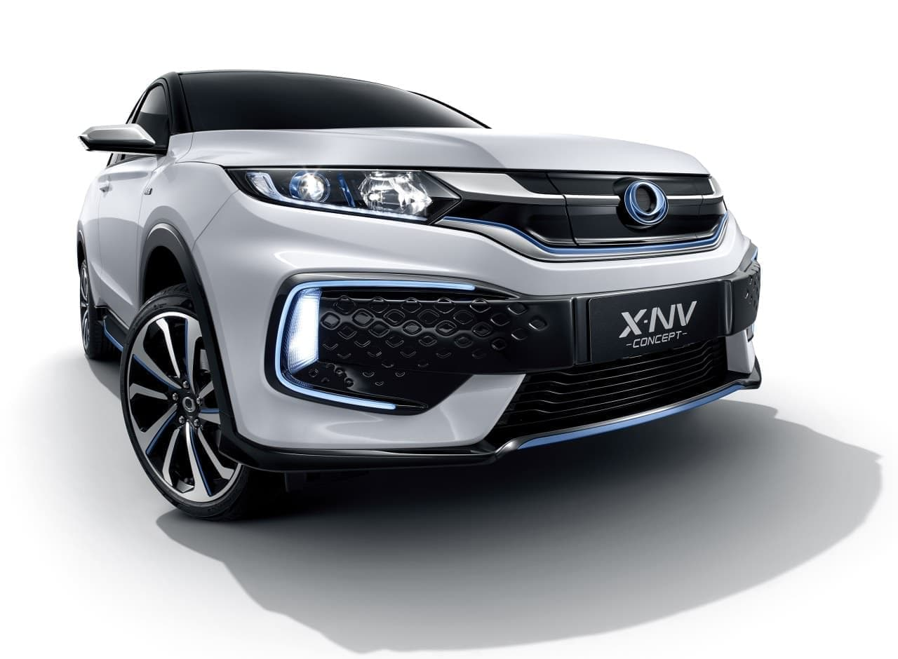 ホンダEV「X-NV CONCEPT」世界初公開