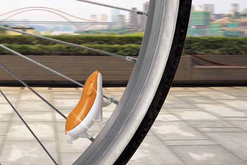 キュートな自転車用アクセサリーOTOTO「SPEEDY」