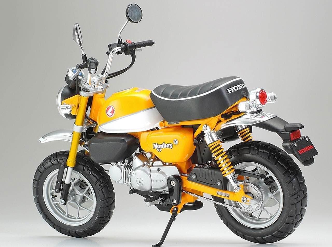 「Honda モンキー125」 1/12スケールモデル発売