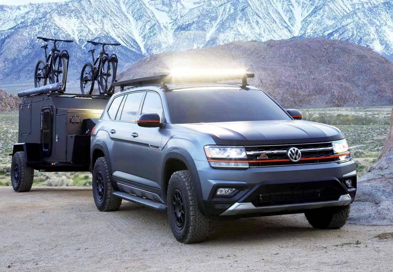 VWのコンセプトキャンパー「ATLAS BASECAMP」