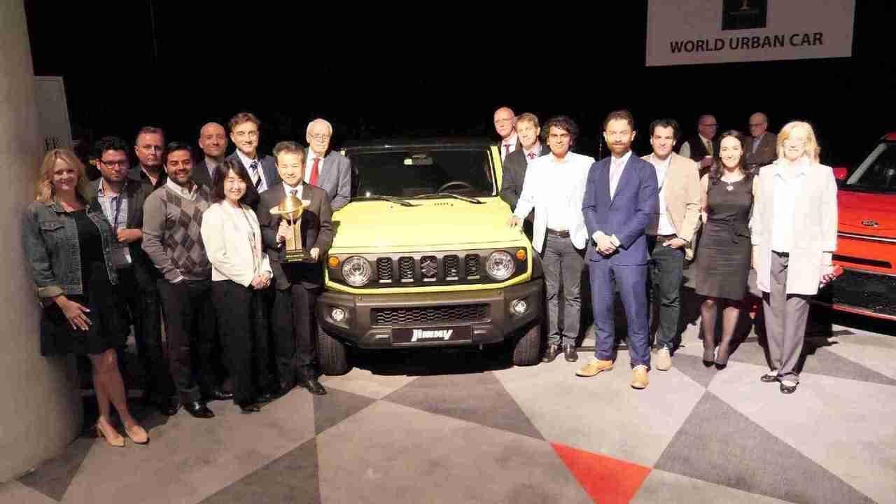 スズキ「ジムニー」、2019ワールドアーバンカーを受賞