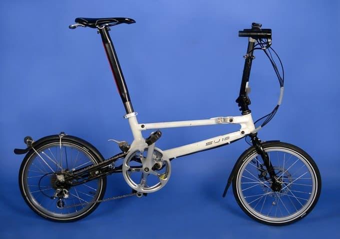 画期的な折り畳み機構を持つ自転車「SU18」