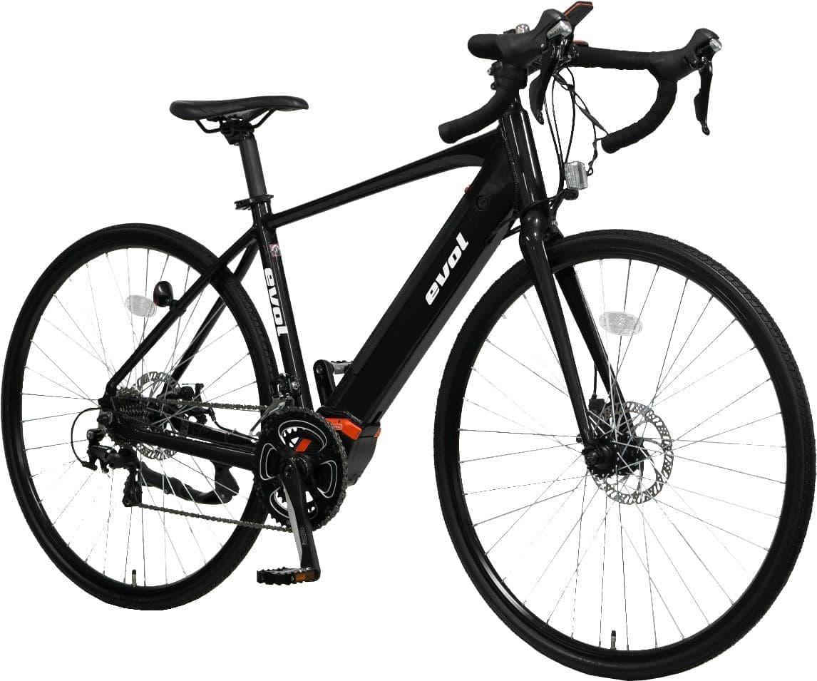 お手頃価格の電動アシストクロスバイク / MTB / ロードバイク「evol」―自転車通勤にぴったり
