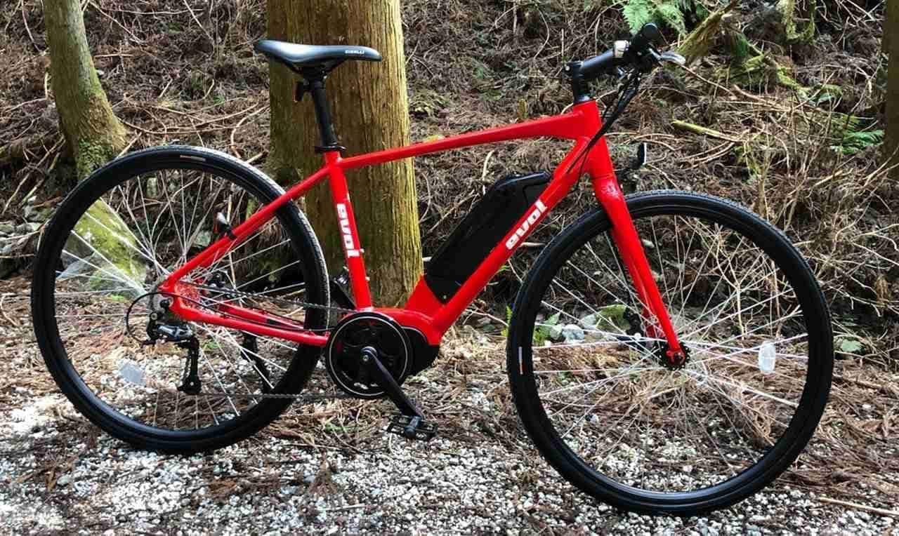 お手頃価格の電動アシストクロスバイク / MTB / ロードバイク「evol」
