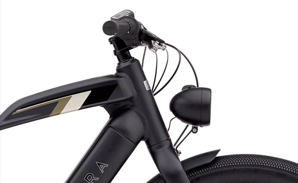 カフェレーサースタイルの電動モペッド、Electra「Cafe Moto Go」