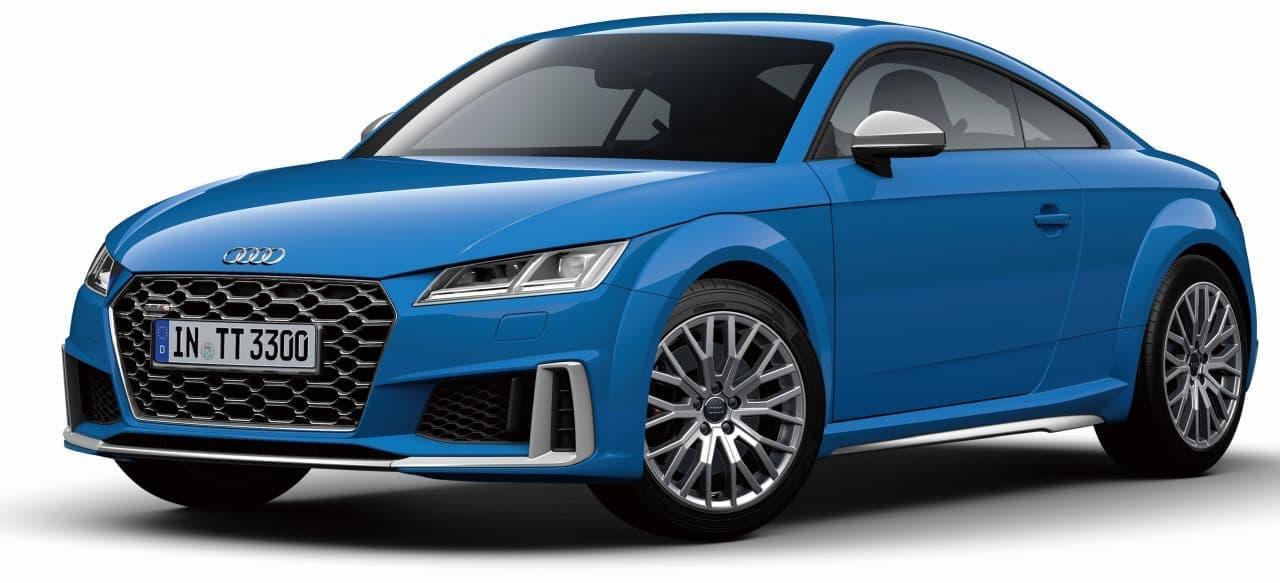 Audi「TT」シリーズ改良 ― エクステリアがスポーティに&FFモデルのエンジンパワーが大幅アップ