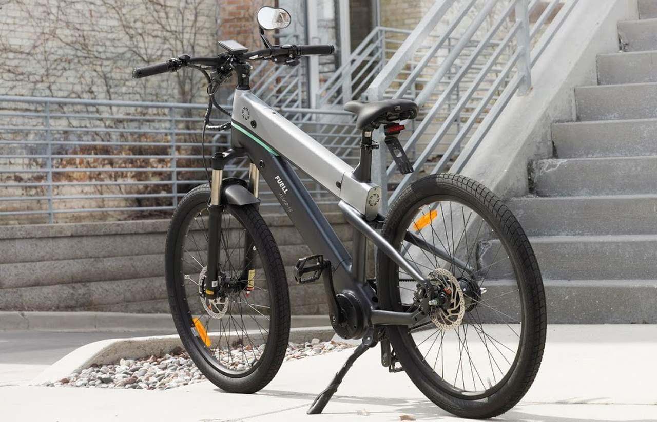 バッテリーを格好良く見せるE-Bike、FUELL「FLUID」