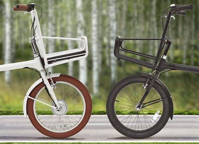 バッテリーをフロントバスケットに―ミニマル・デザインの自転車Elbi Cycles「EL」シリーズ