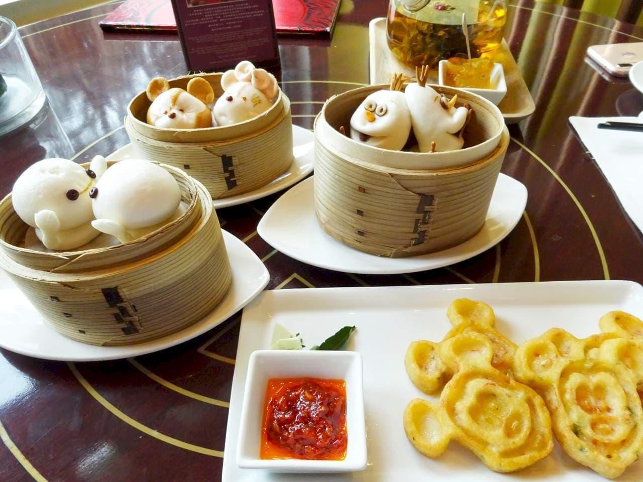 香港ディズニーは、かわいくておいしい ― ディズニー飲茶食べてきました