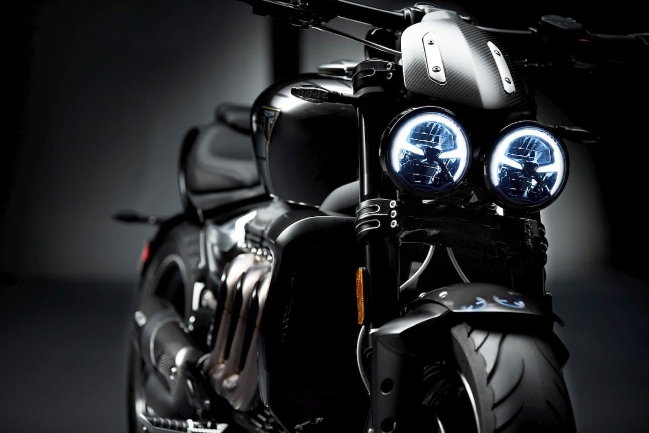 世界最大2,500ccエンジンを搭載したバイク トライアンフ「ROCKET 3 TFC」