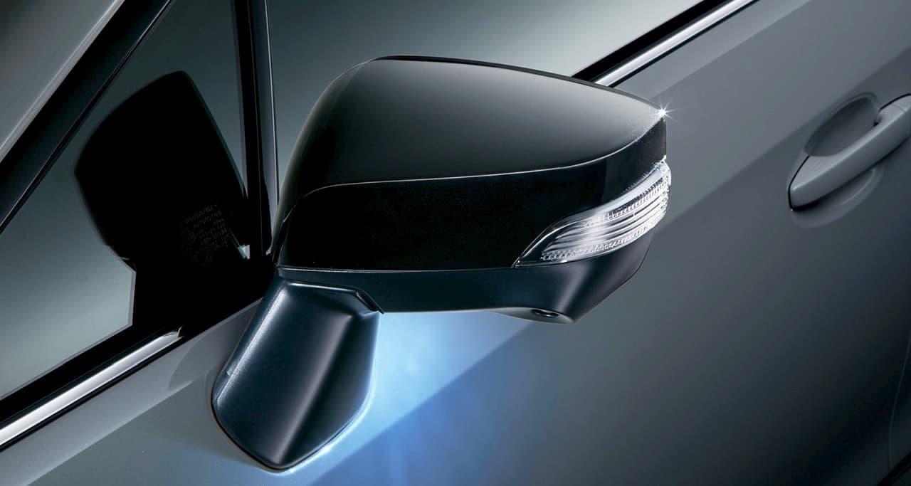 SUBARU「レヴォーグ」に、RECAROシートを採用した特別仕様車「Black Selection」