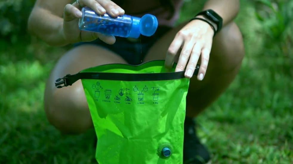 世界最小の洗濯機(ウォッシュバッグ)「Scrubba Wash Bag MINI」