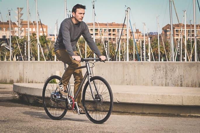 充電不要の電動アシスト自転車Nua Electrica